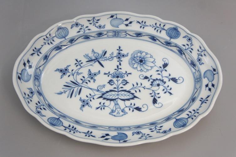 art of antik meissen ovale platte zwiebelmuster 1 wahl. Black Bedroom Furniture Sets. Home Design Ideas